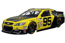 Throwback-Design: Michael McDowell, Leavine Family Racing Chevrolet