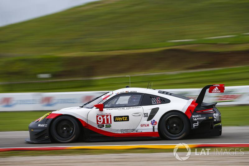 #911 Porsche Team North America Porsche 911 RSR: Патрік Пілет, Дірк Вернер