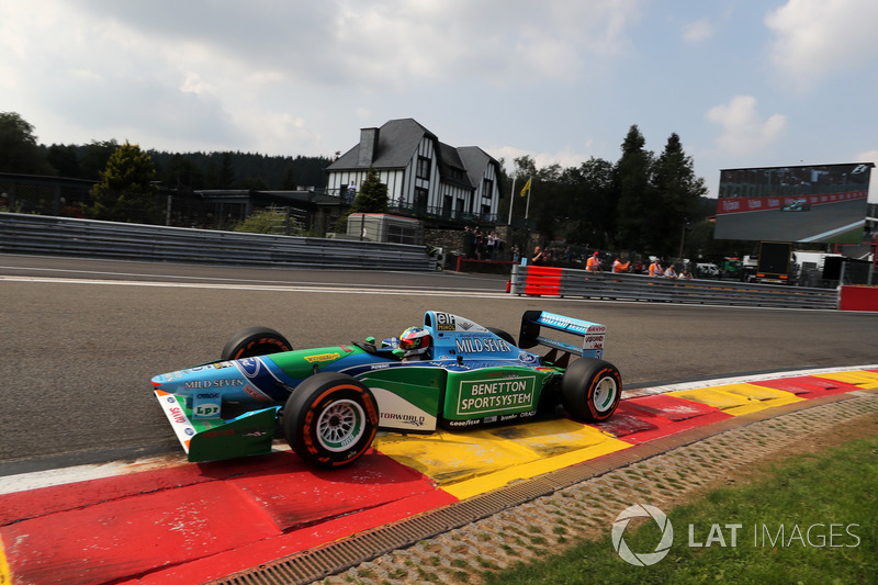 f1-belgian​-gp-2017-m​ick-schuma​cher-in-th​e-benetton​-b194-5