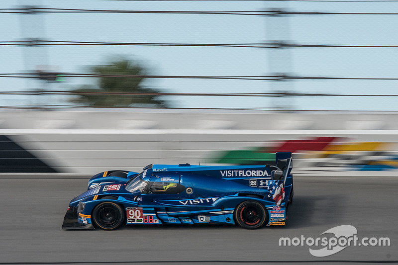 #90 VisitFlorida.com Racing Multimatic Riley LMP2: Marc Goossens, Renger van der Zande, René Rast