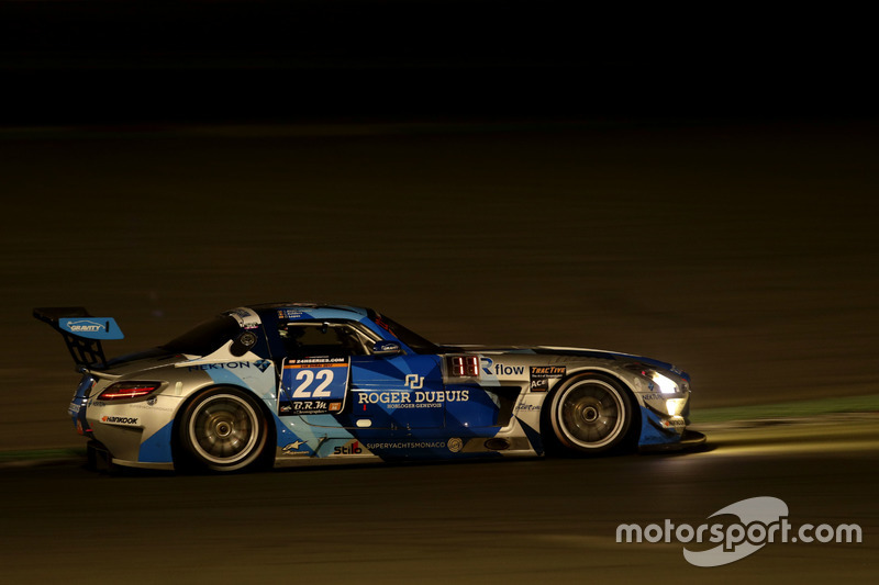 #22 Gravity Racing International Mercedes SLS AMG GT3: Vincent Radermecker, Gerard Lopez, Christian Kelders, Jarek Janis