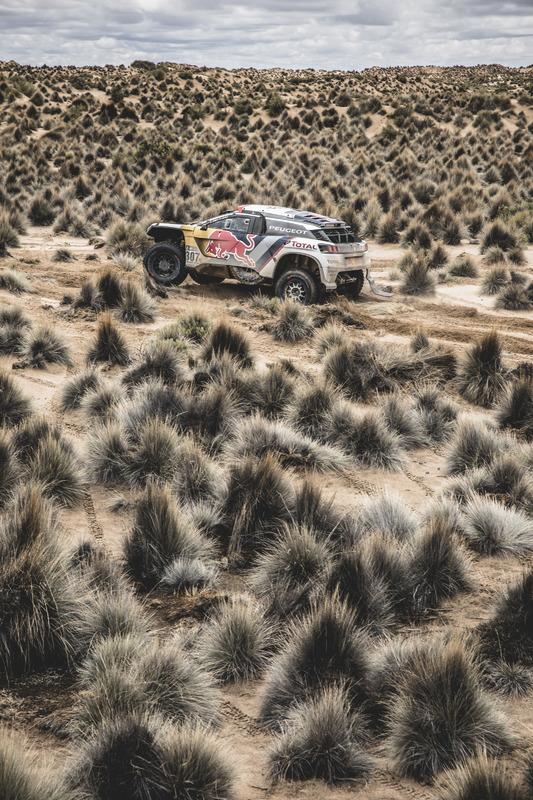#307 Team Peugeot Sport, Peugeot 3008 DKR: Cyril Despres, David Castera