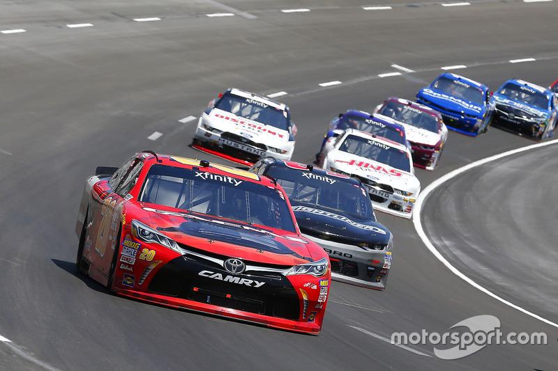Erik Jones, Joe Gibbs Racing, Toyota; Brandon Jones, Richard Childress Racing, Chevrolet