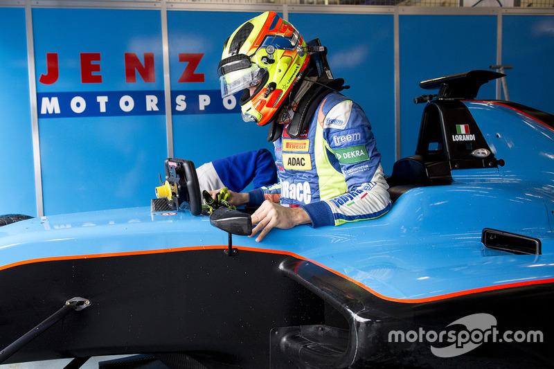 Alessio Lorandi, Jenzer Motorsport