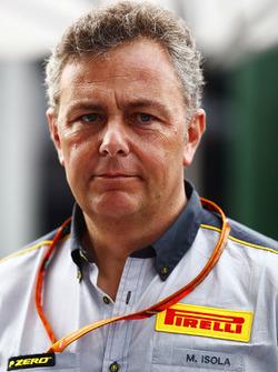 Mario Isola, Rennmanager, Pirelli Motorsport