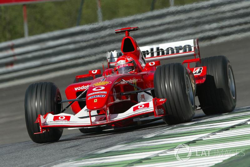 2003 Austrian GP, Ferrari F2003-GA