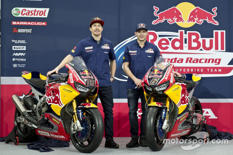 Nicky Hayden, Honda World Superbike Team, Stefan Bradl, Honda World Superbike Team