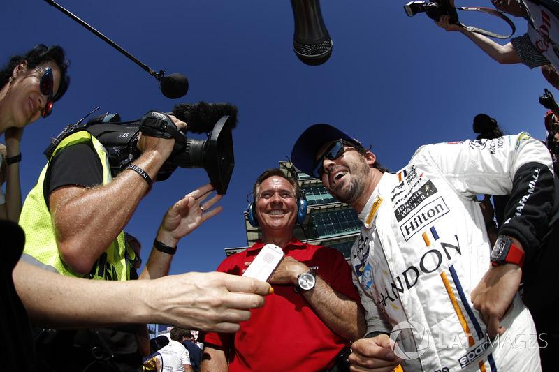 Quinto para la carrera de la Indy 500