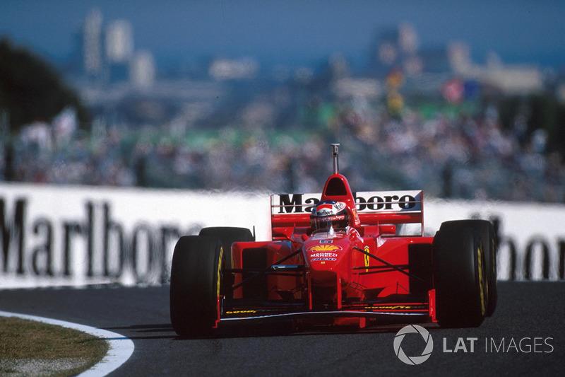 No entanto, sua conduta foi polêmica, atrapalhando e sendo agressivo com Schumacher no início da prova. Isso não deteve o alemão, que venceu. Quinto, Villeneuve teve os pontos retirados.