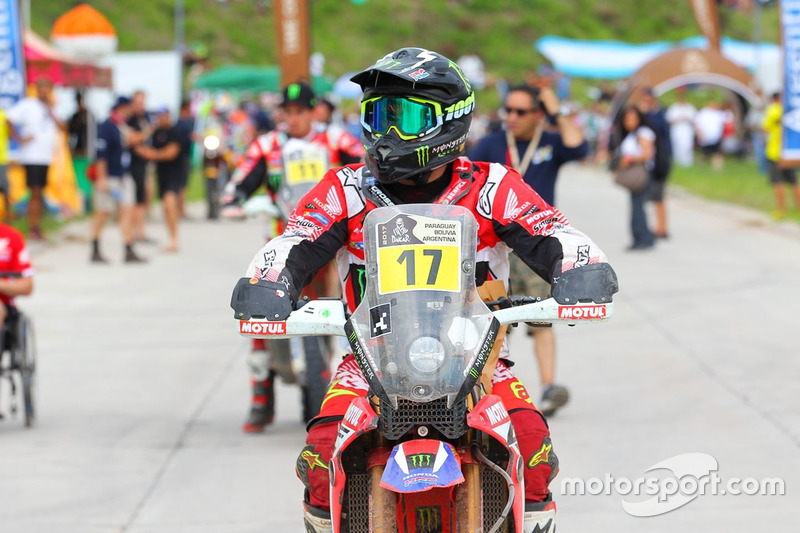 #17 Monster Energy Honda Team: Paulo Goncalves