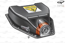 Ferrari F60 (660) 2009 KERS battery