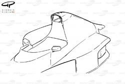 Кожух McLaren MP4-5B 1990 года