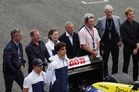 Jason Plato, Martin Brundle, Claire Williams, Riccardo Patrese, Nigel Mansell, Keke Rosberg, Damon Hill, Nico Rosberg, Felipe Massa, Williams, Lance Stroll, Williams