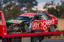 Rick Kelly, Nissan Motorsports car after his crash on the second lap