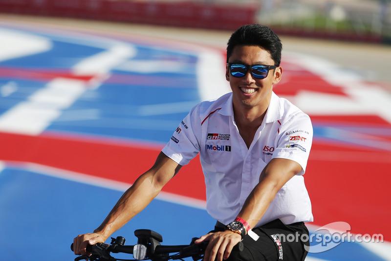 Kazuki Nakajima, Toyota Racing