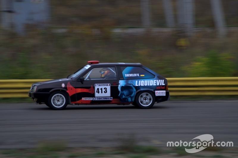 Валерій Шевельов - гонка 1