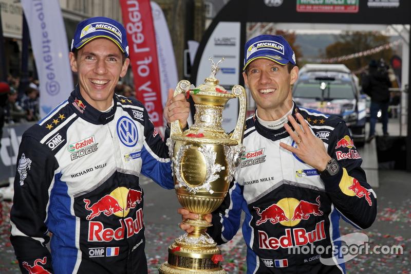 WRC: Sébastien Ogier und Julien Ingrassia, Volkswagen Motorsport