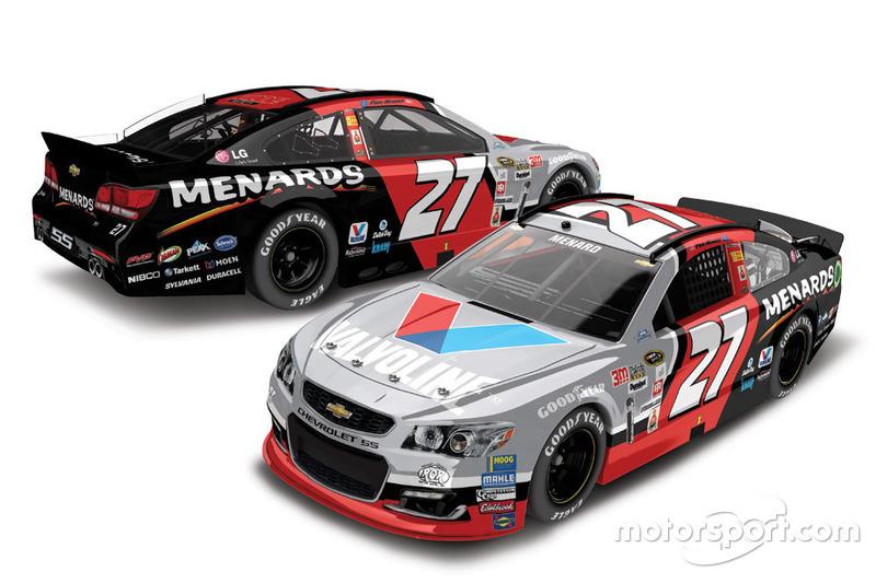 Paul Menard, Richard Childress Racing retro