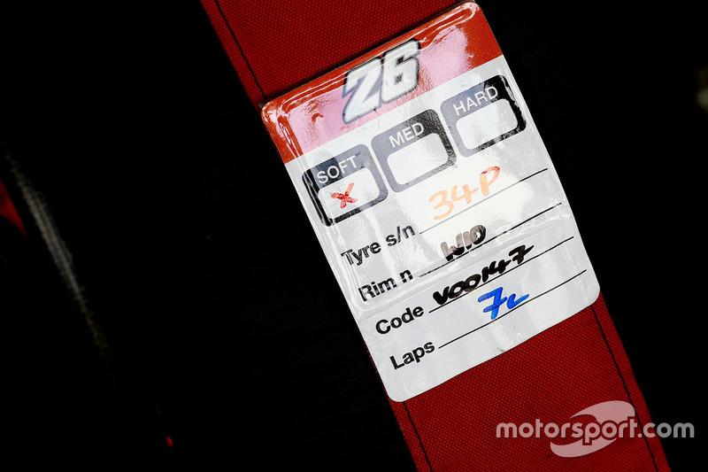 Dani Pedrosa, Repsol Honda Team Michelin soft tyre