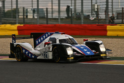 The winner's closing lap, #21 DragonSpeed, Oreca 05-Nissan: Henrik Hedman, Nicolas Lapierre, Ben Hanley