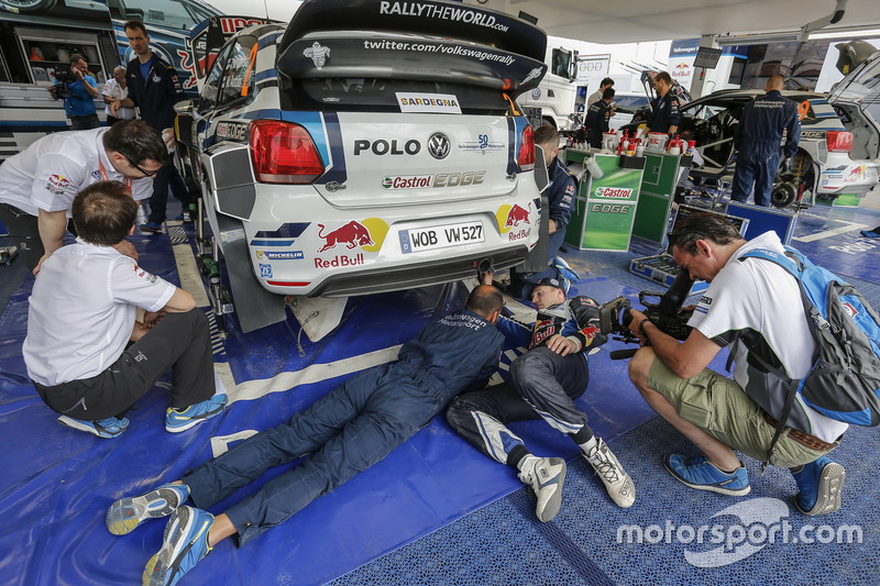 Fabrice van Ertvelde, Jari-Matti Latvala, Volkswagen Polo WRC, Volkswagen Motorsport