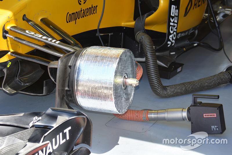 Renault Sport F1 Team RS16, Bremskanal vorn