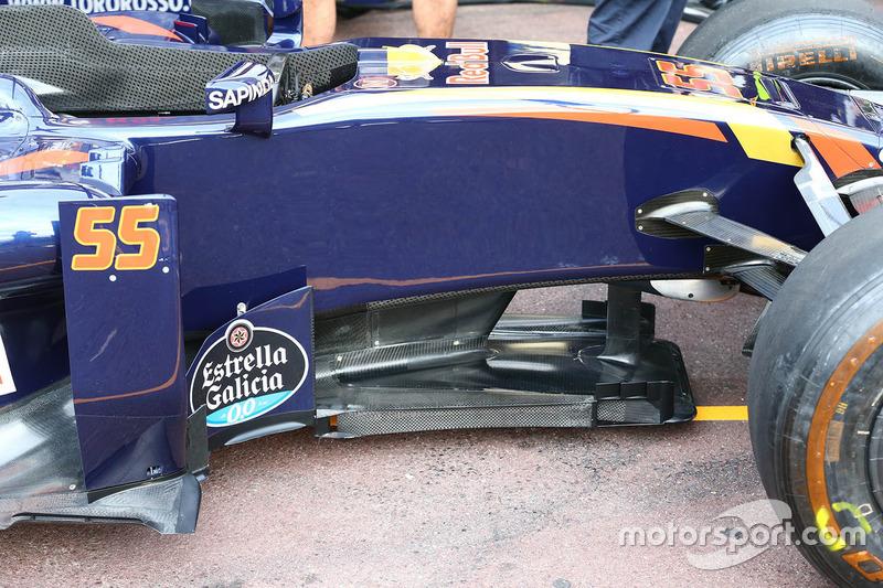 Scuderia Toro Rosso STR11, Unterboden