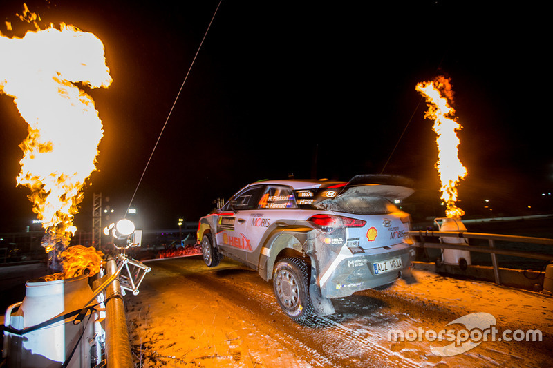 Хейден Пэддон и Джон Кеннард, Hyundai i20 WRC