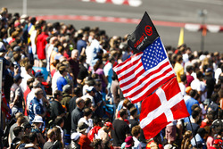 Haas F1 Team supporters