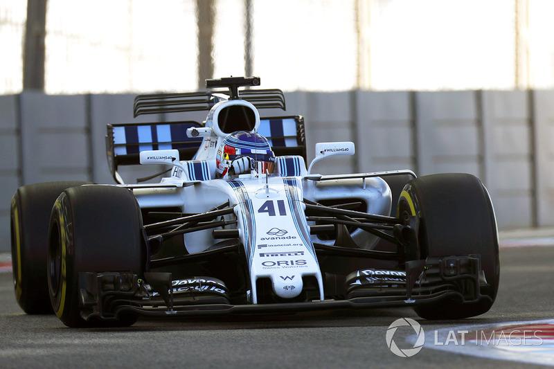 2017: судьбоносные тесты в Williams