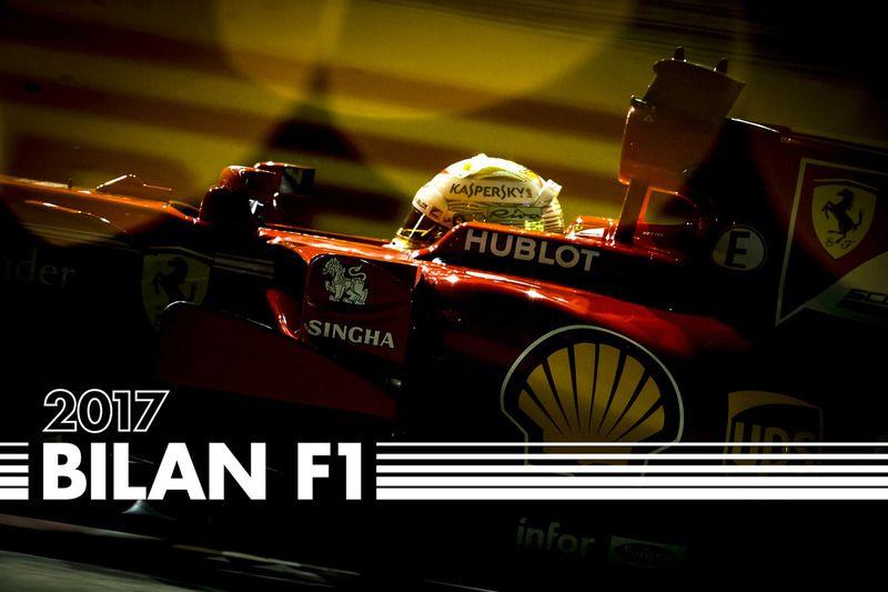 Bilan F1 2017