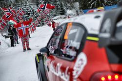 Un fan noruego
