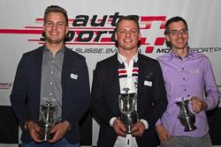 Benjamin Devaud, Rolf Reding, Lukas Eugster beim ASS Award in Bern