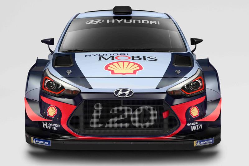 Hyundai i20 Coupe WRC 2018 года