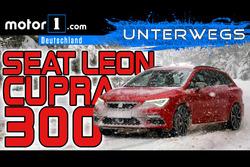 SEAT Leon ST Cupra 300   UNTERWEGS mit Daniel Hohmeyer