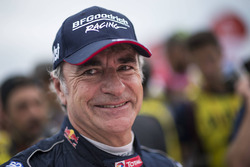 Car winner Carlos Sainz, Peugeot Sport