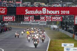 Start zu den 8h Suzuka 2018