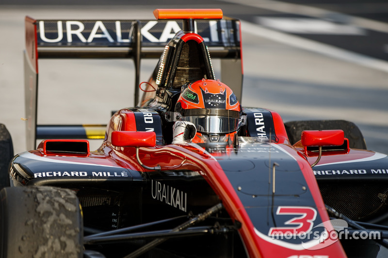 Mazepin a remporté sa deuxième victoire en GP3