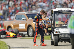 Max Verstappen, Red Bull Racing retires from the race