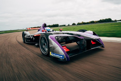 DSV-03 Formula E car in action