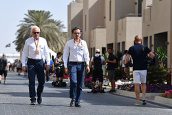 Charlie Whiting, FIA Delegate and Laurent Mekies, FIA Safety Director