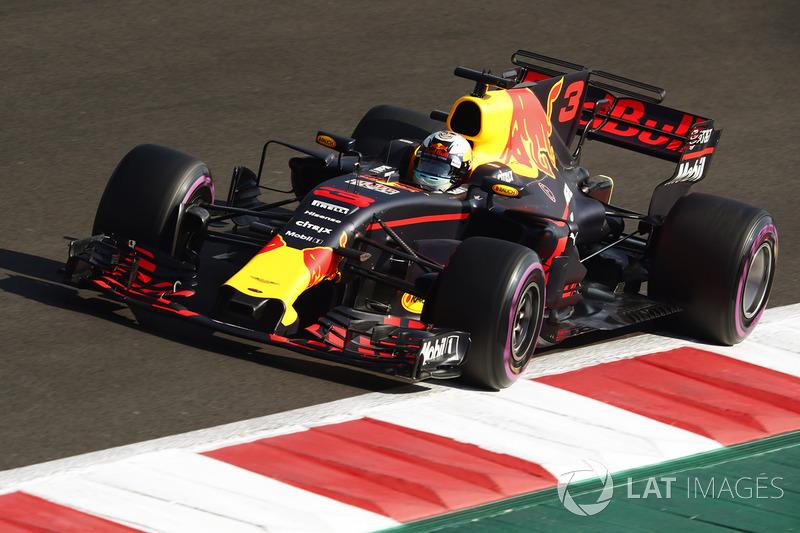 16º Daniel Ricciardo, Red Bull Racing RB13 (sancionado con 20 posiciones)
