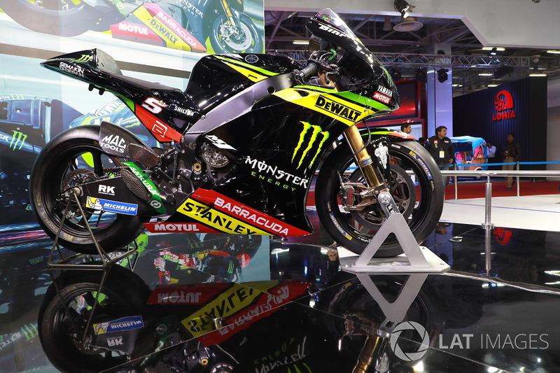Bike of Johann Zarco, Monster Yamaha Tech 3