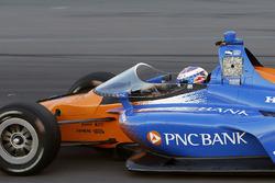 Scott Dixon, Chip Ganassi Racing Honda, mit Cockpitschutz
