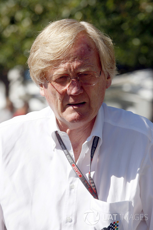 Ron Walker, président du Grand Prix d'Australie
