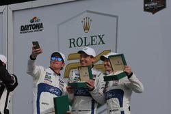 Victory lane, Winner GTLM: #67 Ford Performance Chip Ganassi Racing Ford GT: Ryan Briscoe, Richard Westbrook, Scott Dixon