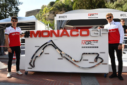 Charles Leclerc, Sauber and Marcus Ericsson, Sauber at the Monaco GP Challenge