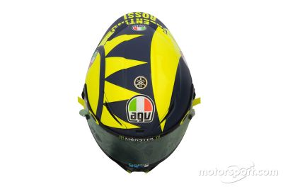 Valentino Rossi onthulling helm