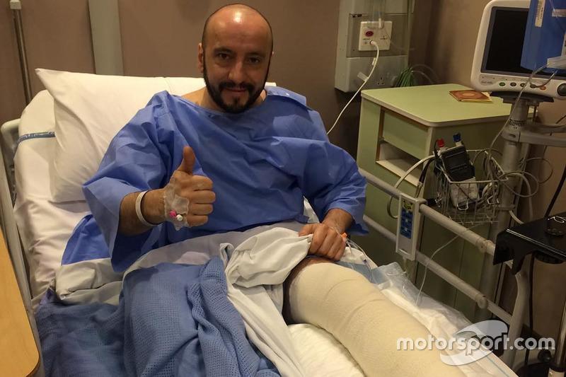 Francesco Cigarini usai operasi