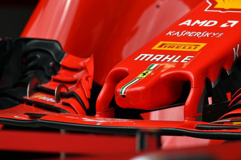 Ferrari SF-71H nose detail